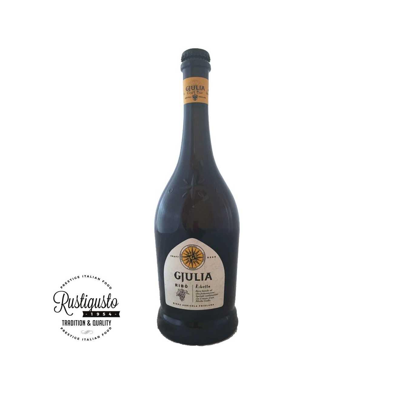 Birra artigianale Ribò bionda - Birre Artigianali