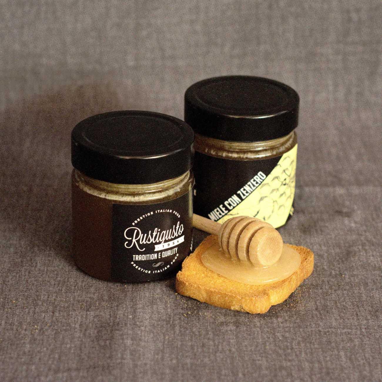 Ginger and acacia honey - Honey