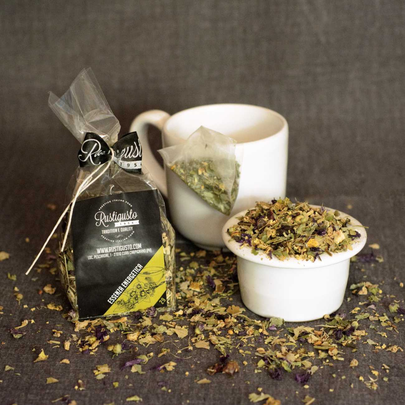 Energy herb tea - Coffee and herbal teas