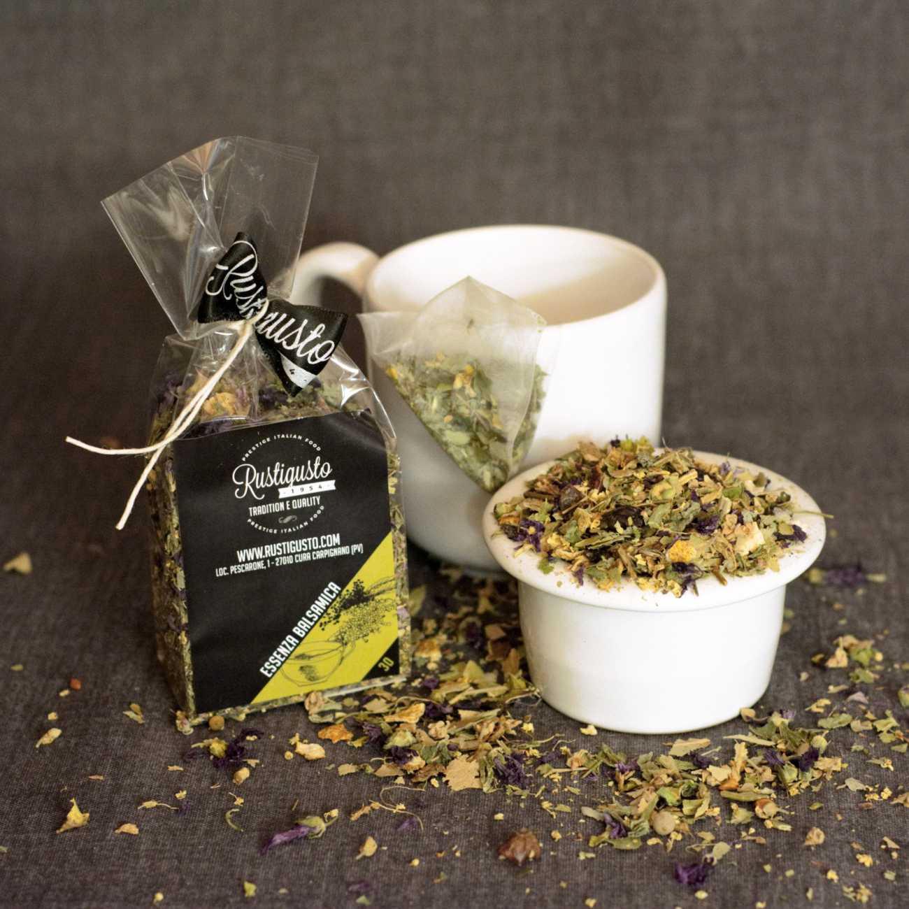 Balsamic herb tea - Coffee and herbal teas