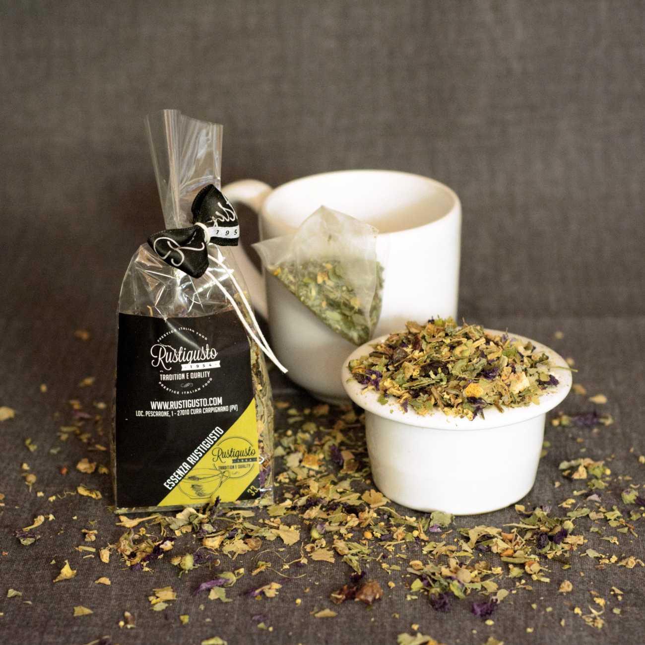 Tisana essenza Rustigusto - Caffè e Tisane