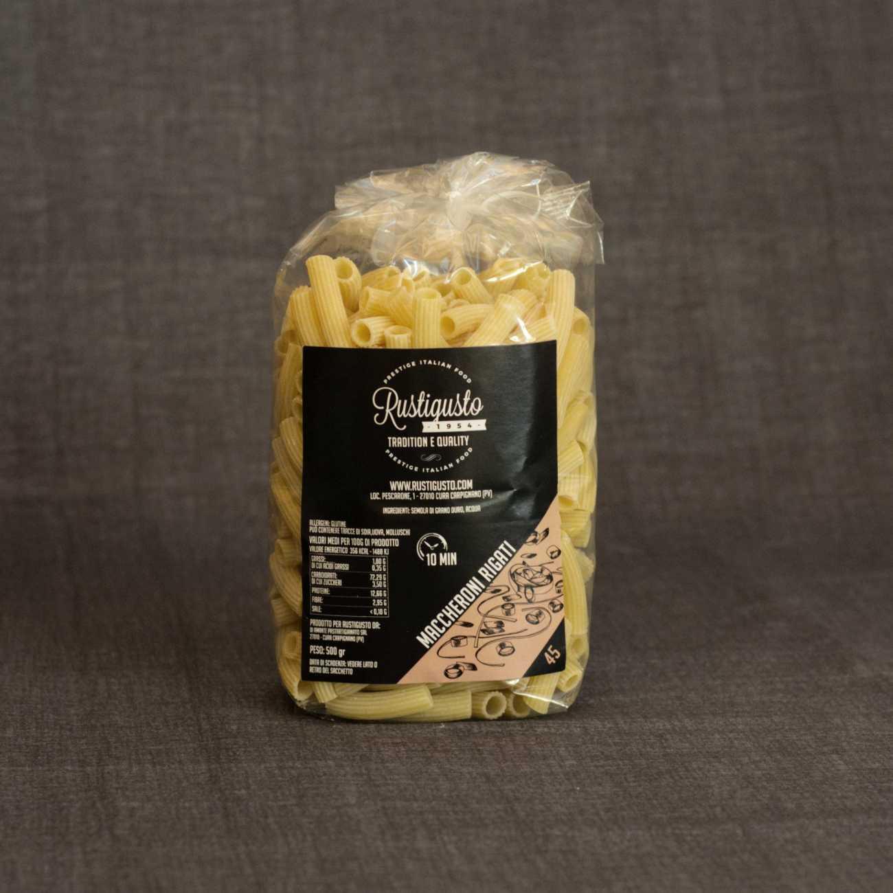 Maccheroni rigati - Pasta
