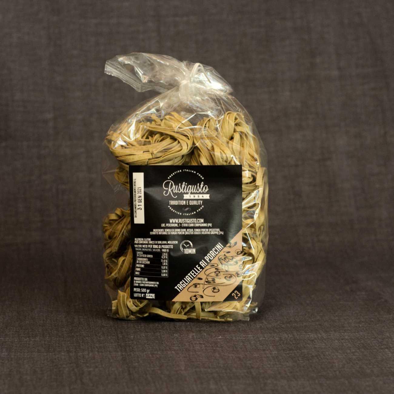 Tagliatelle with porcini mushrooms - Pasta