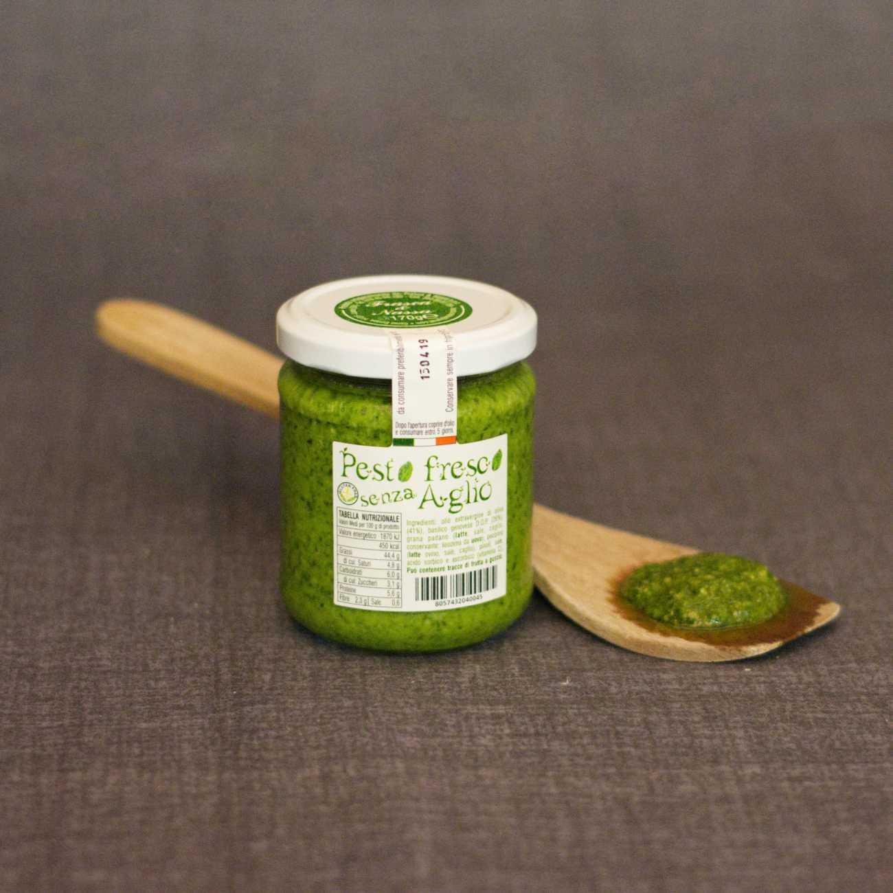 Pesto genovese senz'aglio - Sughi