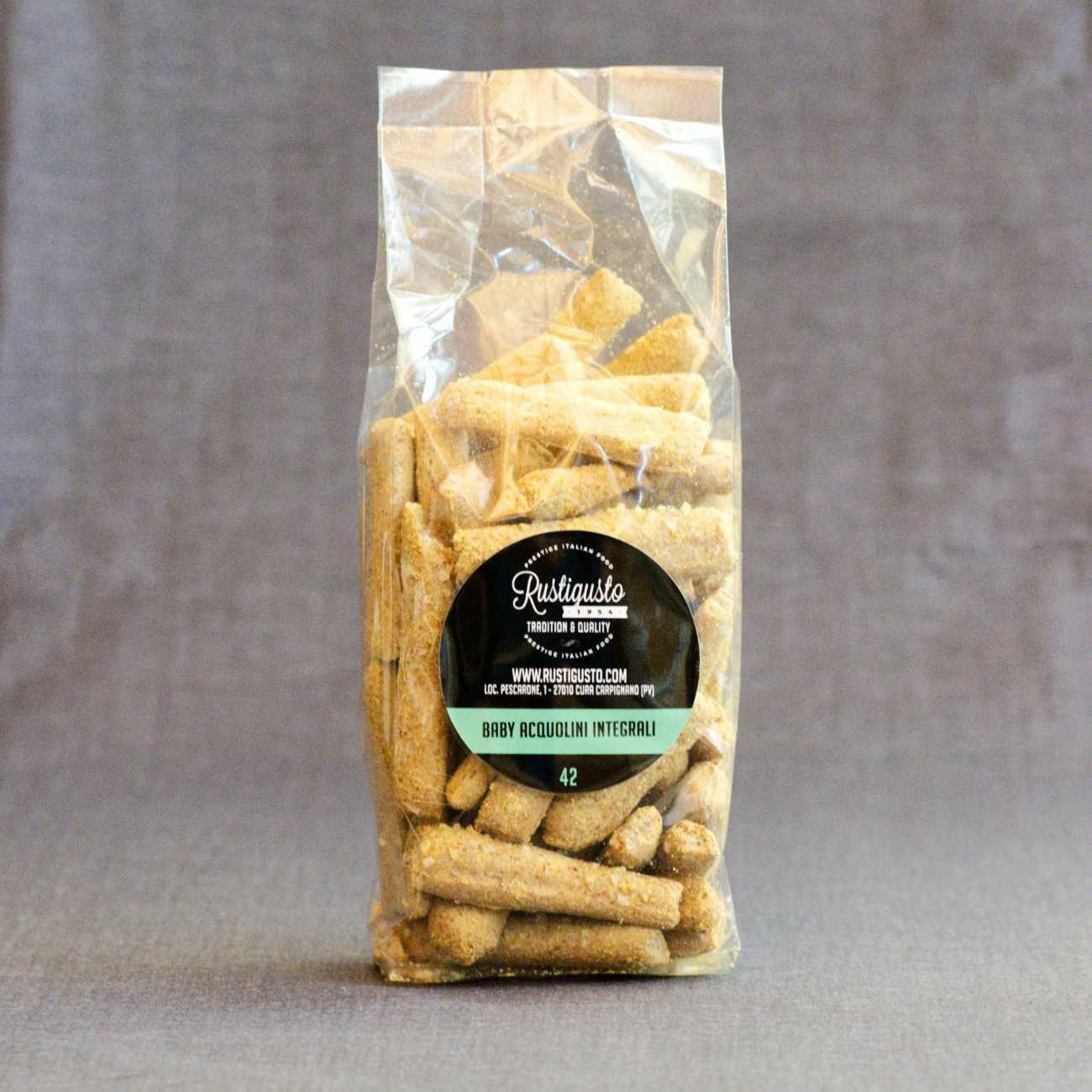 Wholemeal flour baby Acquolini breadsticks - Breadsticks