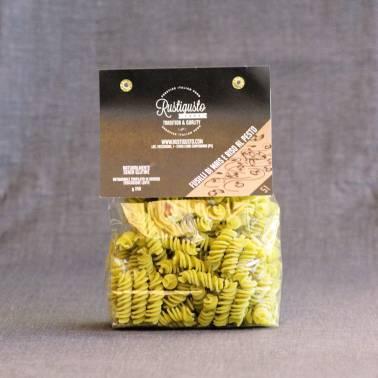 Corn and pesto fusilli - Pasta