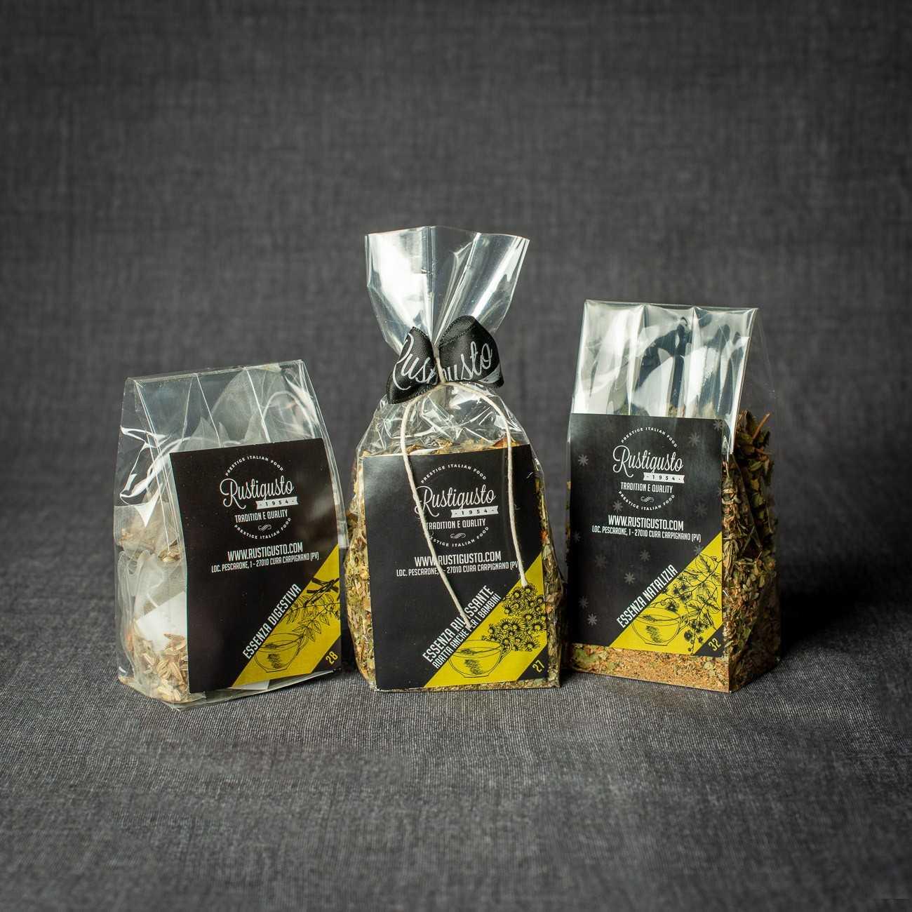Tris di tisana - Degustazioni