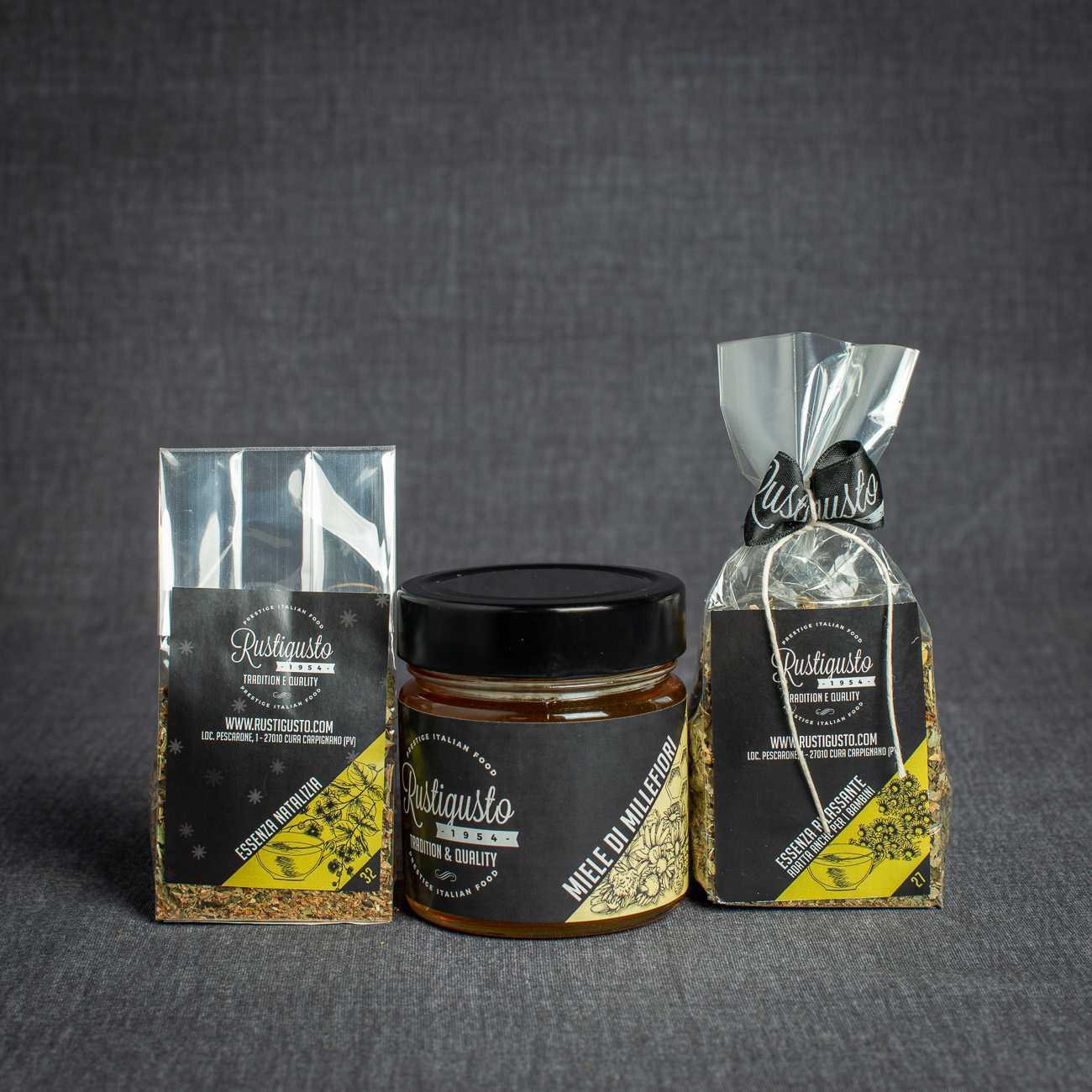 Honey + herbal tea - Degustazioni