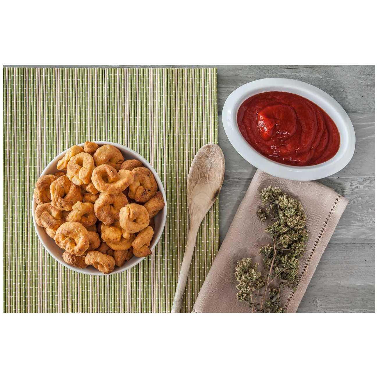 Tarallucci pomodoro e origano - Grissini