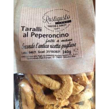 Taralli al peperoncino - Grissini