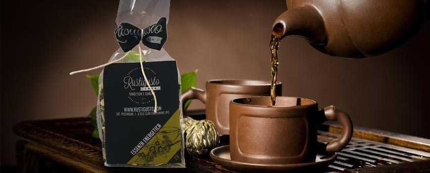 Coffee and herbal teas